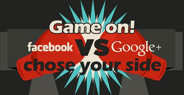 Facebook vs Google Plus - It's on!