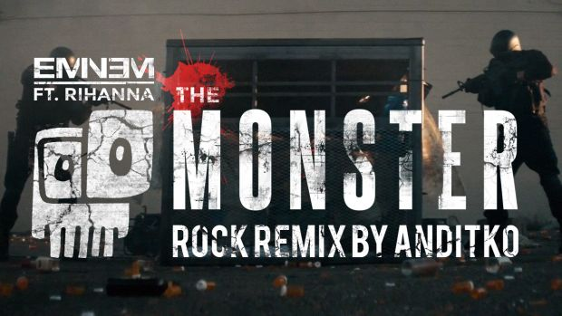 Eminem ft Rihanna - The Monster [Rock ReMiX by ANDiTKO]